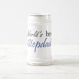 World's Best Stepdad 18 Oz Beer Stein