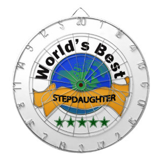 World's Best Stepdaughter Dartboard