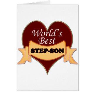 World's Best Stepson Card