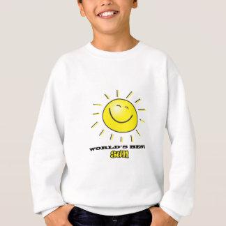 WORLD'S BEST SUN - smiling sunshine Sweatshirt