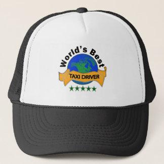 World's Best Taxi Driver Trucker Hat