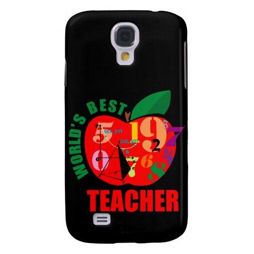 World's Best Teacher Apple Galaxy S4 Case