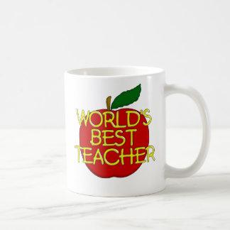 World's Best Teacher Basic White Mug