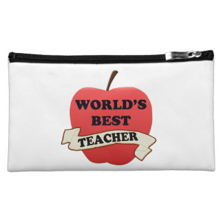 World's Best Teacher Cosmetic Bag