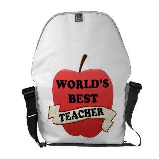 World's Best Teacher Courier Bags