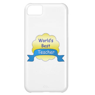 World's Best Teacher Cover For iPhone 5C