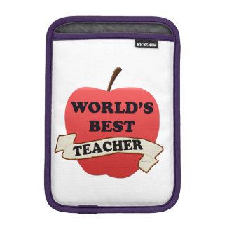World's Best Teacher iPad Mini Sleeve