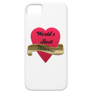 World's Best Teacher iPhone 5 Case