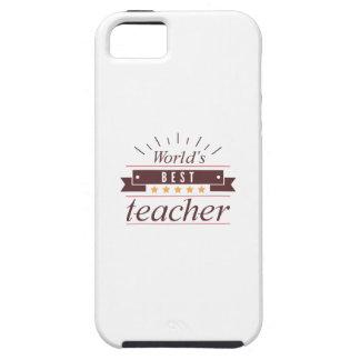 World's Best Teacher iPhone 5 Case