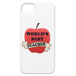 World's Best Teacher iPhone 5 Cover