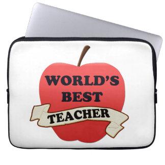 World's Best Teacher Laptop Sleeve