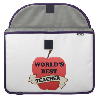 World's Best Teacher Sleeve For MacBooks