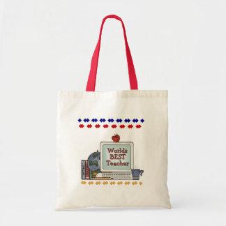 Worlds Best Teacher Tote Bag