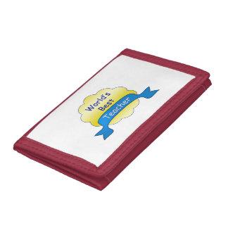 World's Best Teacher Tri-fold Wallet