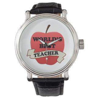 World's Best Teacher Watch