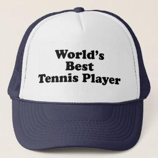 World's Best Tennis Player Trucker Hat