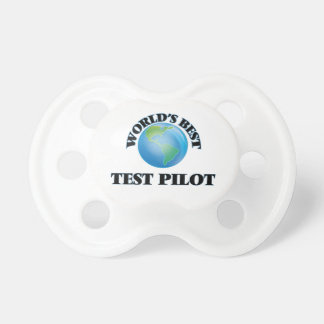 World's Best Test Pilot BooginHead Pacifier