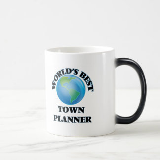 World's Best Town Planner Magic Mug