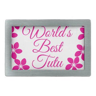 Worlds Best Tutu Belt Buckle