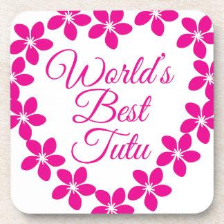 Worlds Best Tutu Coaster