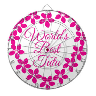 Worlds Best Tutu Dartboard