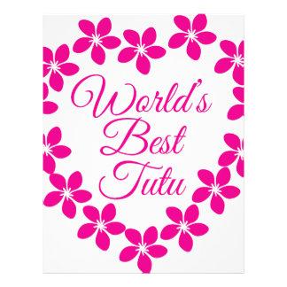 Worlds Best Tutu Letterhead