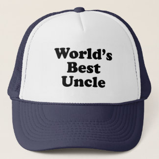 World's Best Uncle Trucker Hat