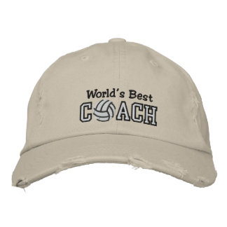 World's Best Volleyball Coach Embroidered Hat