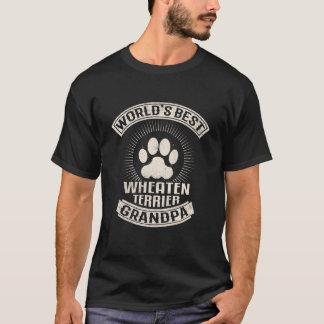 World's Best Wheaten Terrier Grandpa T-Shirt