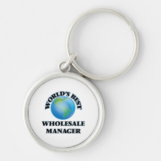 World's Best Wholesale Manager Keychains