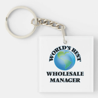 World's Best Wholesale Manager Square Acrylic Key Chains
