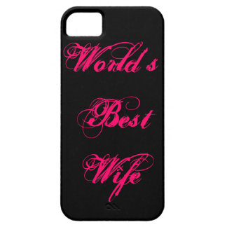 World's Best Wife iPhone 5 Cases
