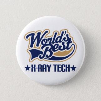 Worlds Best X Ray Tech 2 Inch Round Button