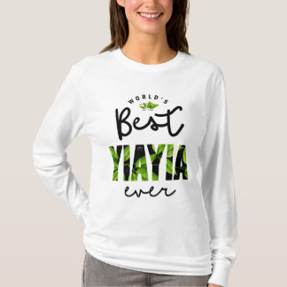 World's Best Yiayia Ever T-Shirt