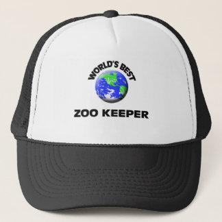 World's Best Zoo Keeper Trucker Hat