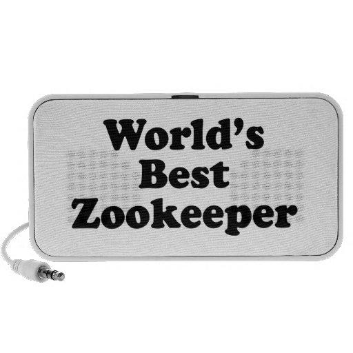 World's Best Zookeeper PC Speakers