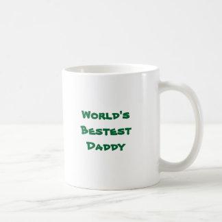 World's Bestest Daddy Coffee Mugs