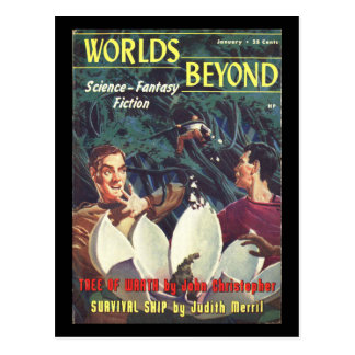 Worlds Beyond_Pulp Art Postcard