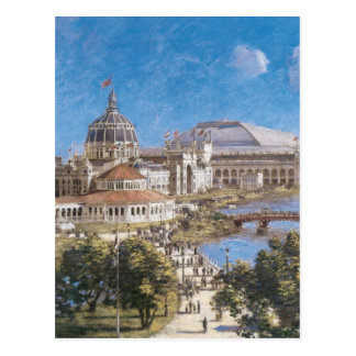 World's Colombian Exposition by Theodore Robinson Post Cards