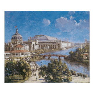World's Colombian Exposition by Theodore Robinson Poster