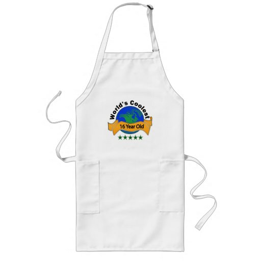 World's Coolest 16 Year Old Apron