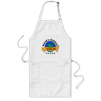 World's Coolest 16 Year Old Long Apron