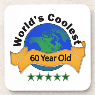 World's Coolest 60 Year Old Drink Coaster