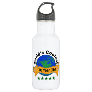 World's Coolest 70 Year Old 532 Ml Water Bottle