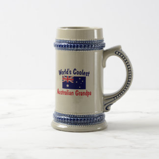 World's Coolest Australian Grandpa Beer Stein