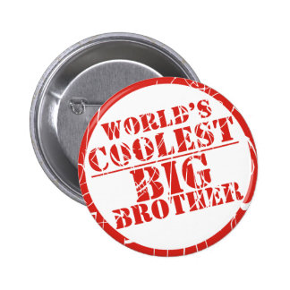 World's Coolest Big Brother 2 Inch Round Button