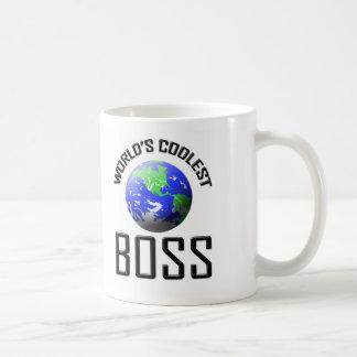 World's Coolest Boss Basic White Mug