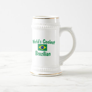 World's Coolest Brazilian 18 Oz Beer Stein