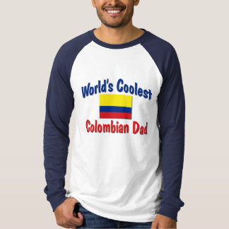 World's Coolest Colombian Dad T-Shirt