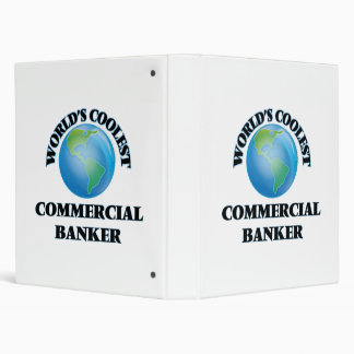World's coolest Commercial Banker Vinyl Binders